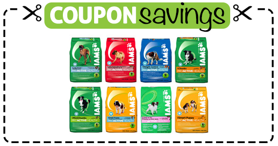 Save $2 off any IAMS Dry Dog Food