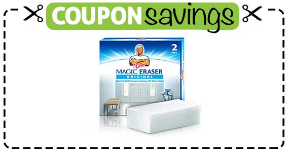 Save 75¢ off Mr. Clean Magic Eraser