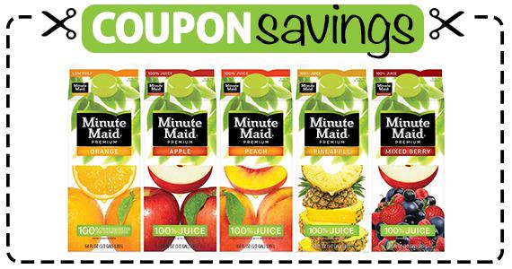 Save 75¢ off Minute Maid Juice