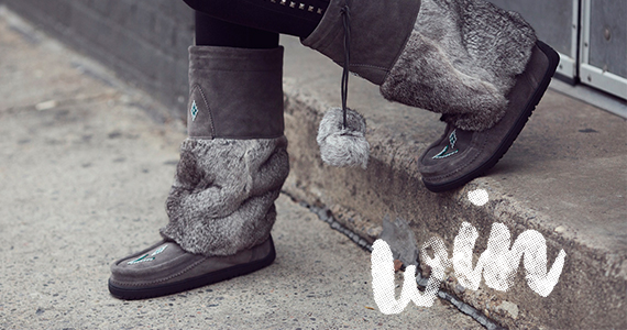 Win a Pair of Authentic Mukluks Boots