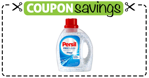 Save $2 off Persil PowerPearls Laundry Detergent
