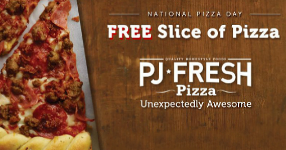 Free Slice Of Pizza Today
