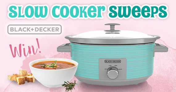 Win a Black and Decker Slow Cooker