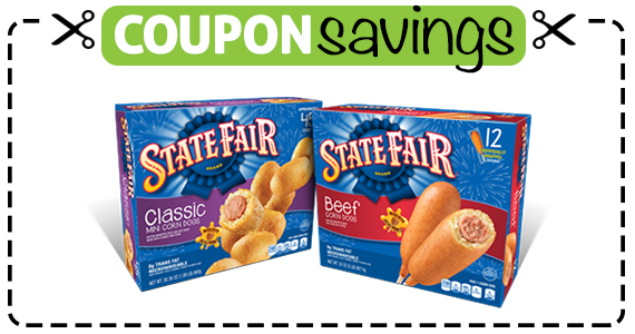 Save 55¢ off State Fair Corn Dogs
