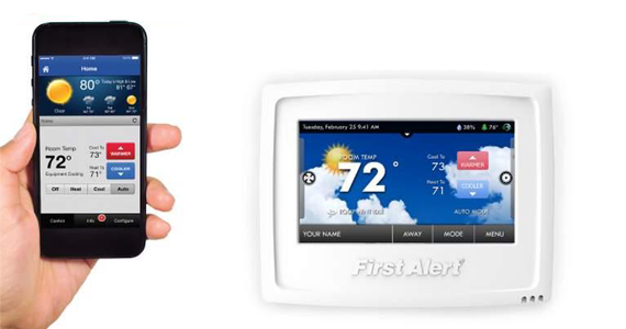Win a First Alert Onelink Wi-fi Thermostat & Smoke Alarm