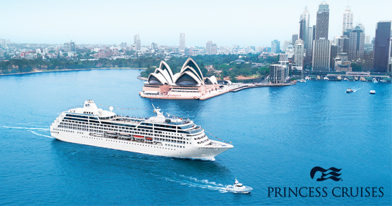 Win a Princess Cruise for 2