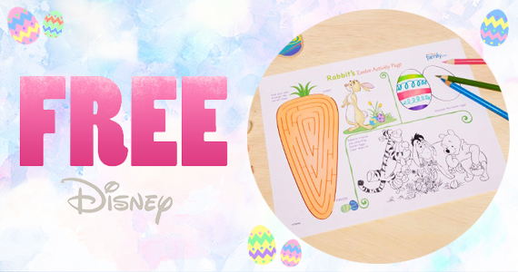 Free Printable Rabbit's Easter Activity Page