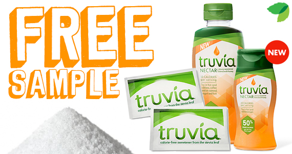 Free Sample of Truvia Calorie-Free Sweetener & Nectar