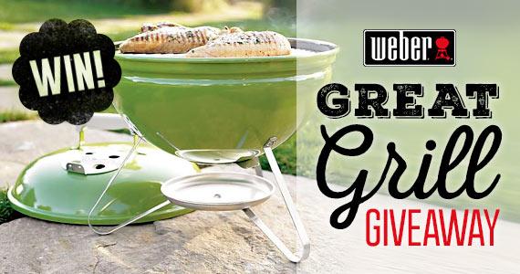 Win a Smokey Joe Weber Grill
