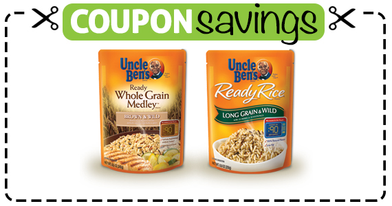 Save $1 off 4 Uncle Ben's Flavored Rice