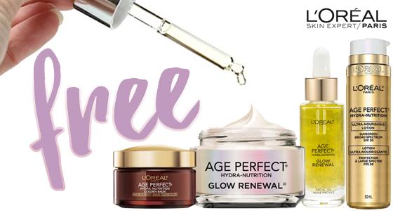 Free Sample of L'Oréal Anti-Aging Skin Care