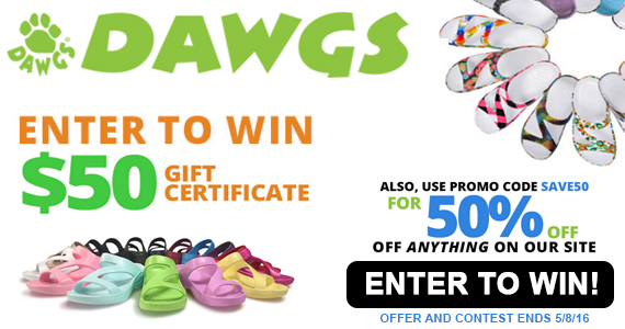 Sign Up With Dawgs and Win a $50 Gift Certificate