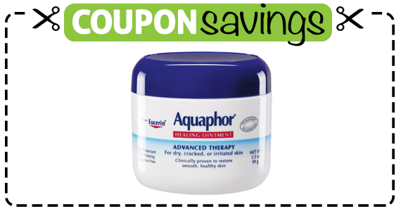 Save $4 off Aquafor Healing Ointment