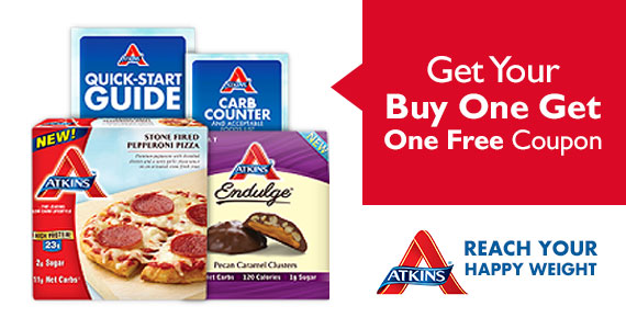 Get Your Atkins Starter Kit, Free Mobile App and BOGO Coupon
