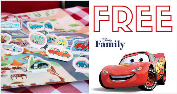 Printable Cars Radiator Springs Playset