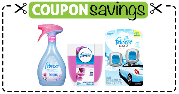 Save 75¢ off Any Febreze Product