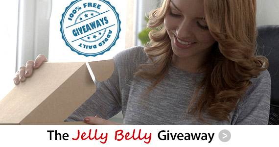 Sign Up For Daily Giveaway Alert & Win Jelly Belly's