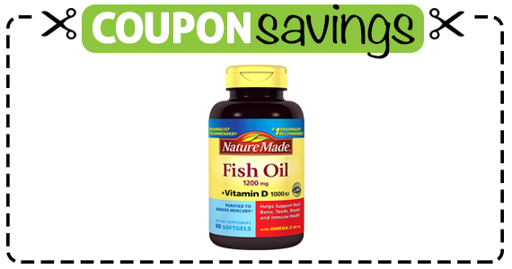 Save $1 off Nature Made Vitamin D or Fish Oil
