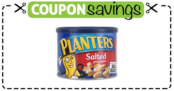 Save $1 off Planters Peanuts