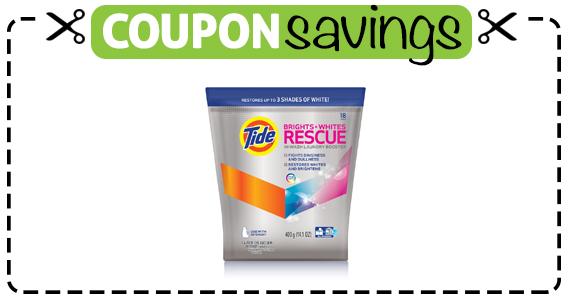 Save $1.50 off Tide Rescue