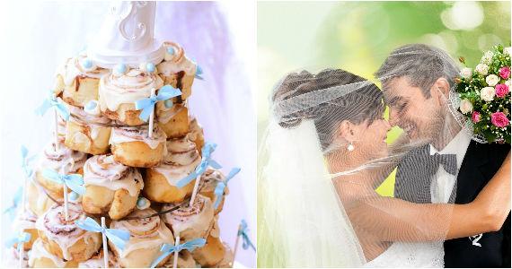 Win a Cinnabon 3-Tier Wedding Cake