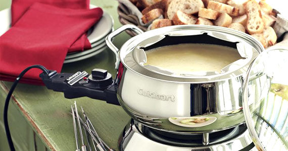 Win a Cuisinart Electric Fondue Maker