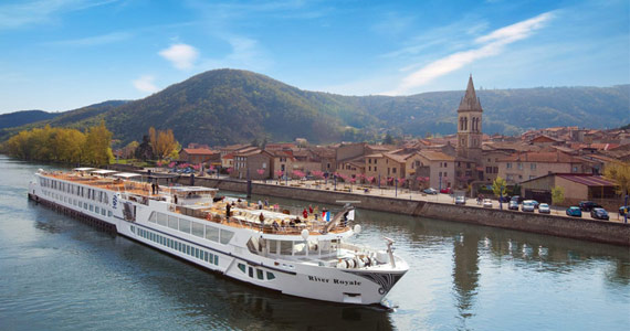 Win a French River Cruise on the Rivers Rhone and Saone