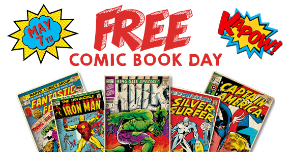 Free Comic Book on May 7th