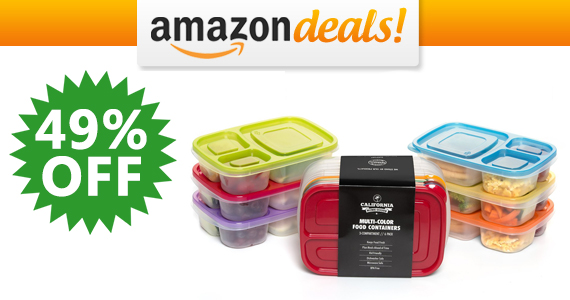 Get California Home Goods Food Storage For $14.72