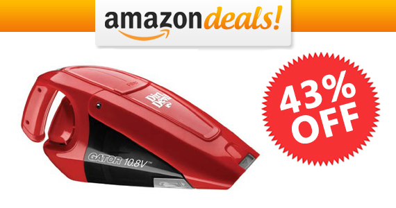 Save 43% off Dirt Devil Cordless Handheld Vacuum