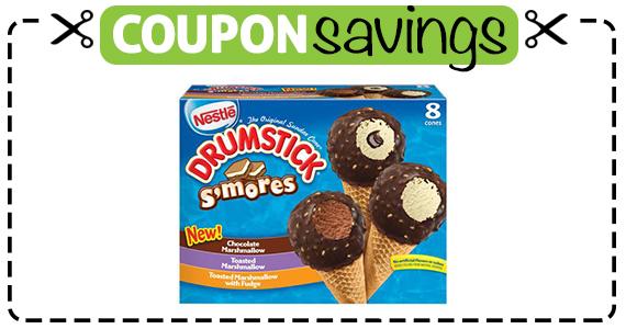 Save 75¢ off Nestle Drumstick Smores Cones