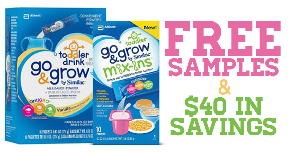 Free Sample Of Similac Go & Grow