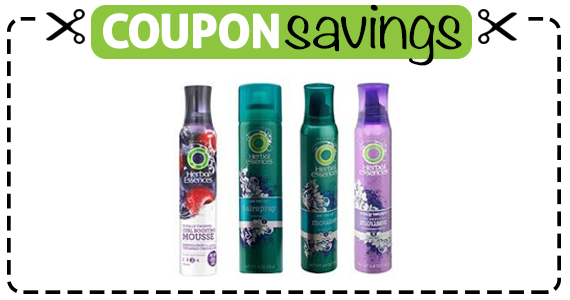 Save $1 off 2 Herbal Essences Styling Products