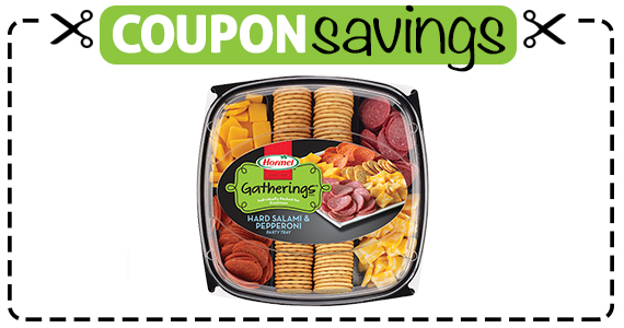 Save $3 off Hormel Gatherings Party Tray