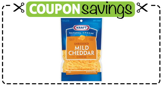 Save $2 off 2 Kraft Natural Shredded Cheese