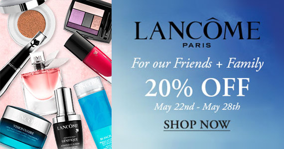 Sign Up With Lancôme For Free Samples, 20% Off & More