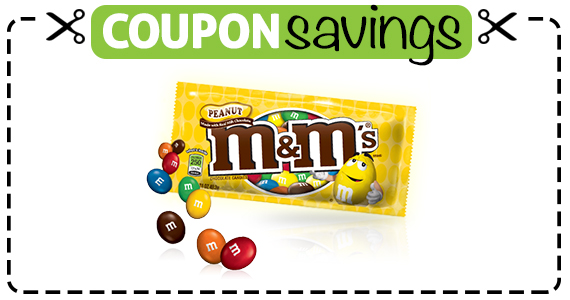 Save 50¢ off M&M's