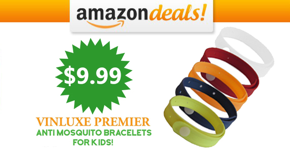 Save $20 Off Vinluxe Mosquito Repellent Bracelets