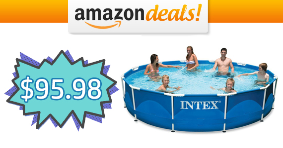 TODAY ONLY – Get a Intex 12ft Pool For $95.98