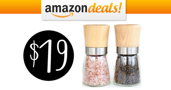 Get a Salt and Pepper Mill Pair For Only $19.00