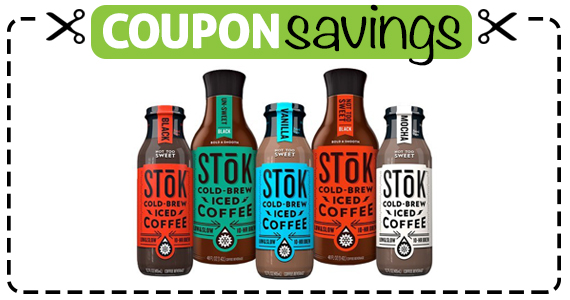 Save $1.50 off STOK Iced Coffee