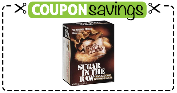 Save 50¢ off Sugar In The Raw 100 Ct.