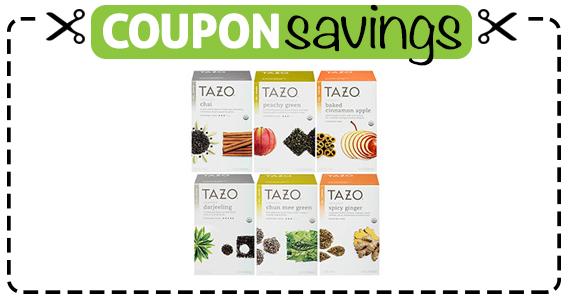 Save $1.50 off any 2 Tazo Teas