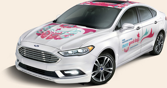 Win a 2017 Ford Fusion