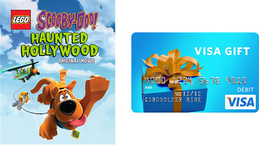 Win a $500 Visa Gift Card & Scooby-Doo Prizes