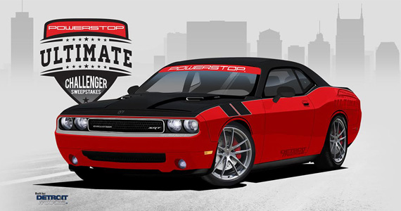 Win a Turbocharged Dodge Challenger