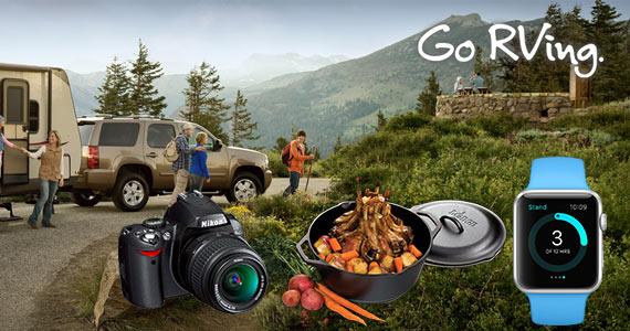 Win an Apple Watch, Electra Cruiser Bike, Nikon Camera and More