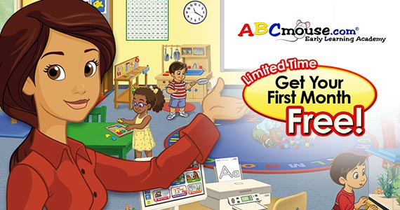 Get Your First Month Free On ABCmouse.com