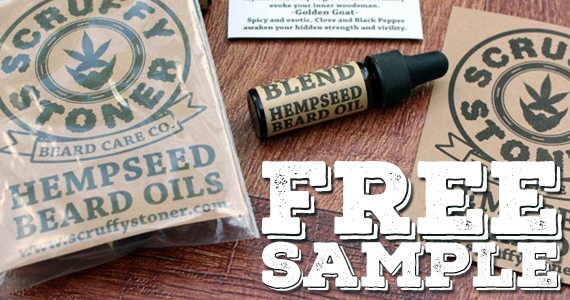 Get a Free Sample of Beard Oil