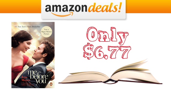Get The 'Me Before You' Paperback Novel For Only $6.77